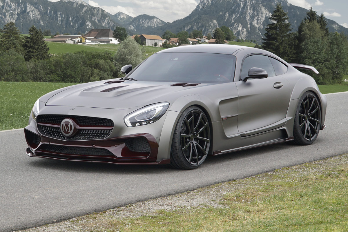 Benz Red Color >> Mercedes-AMG GT S Mansory: Breitbau-Monster vom Tuner steht in Genf