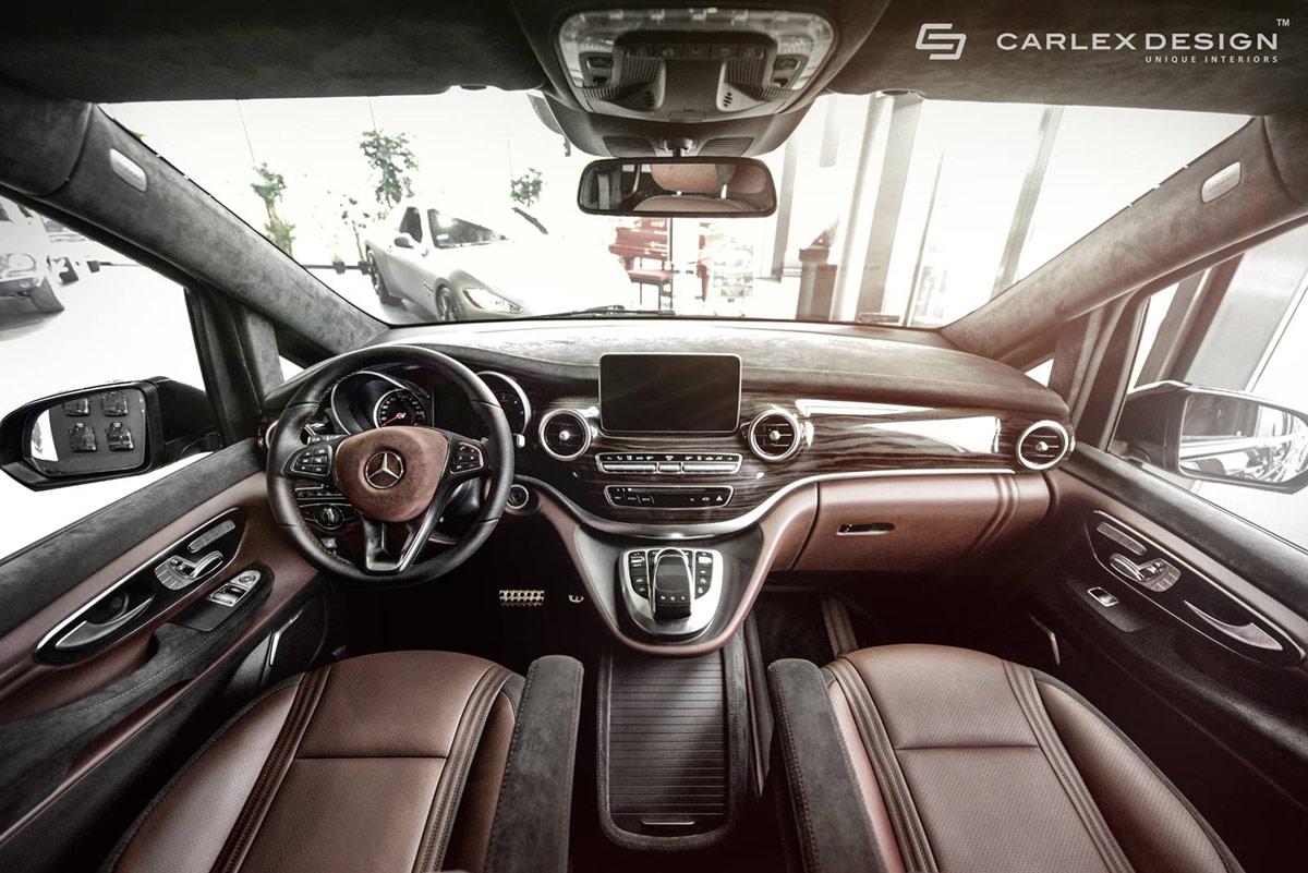 Mercedes V Klasse Von Carlex Design Luxus Pur Im Gro 223 Raum Van