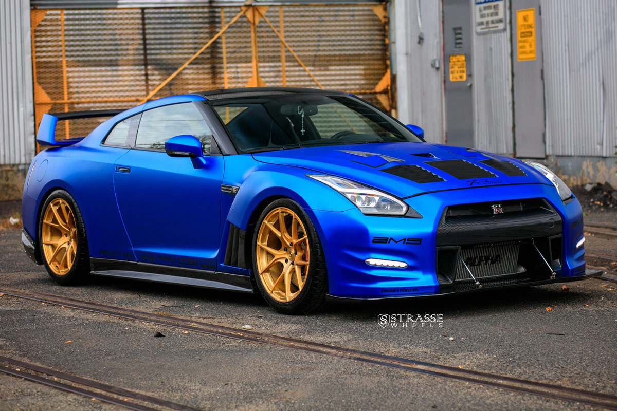 Galerie Nissan Gt R Ams Performance Alpha 12 Strasse Wheels