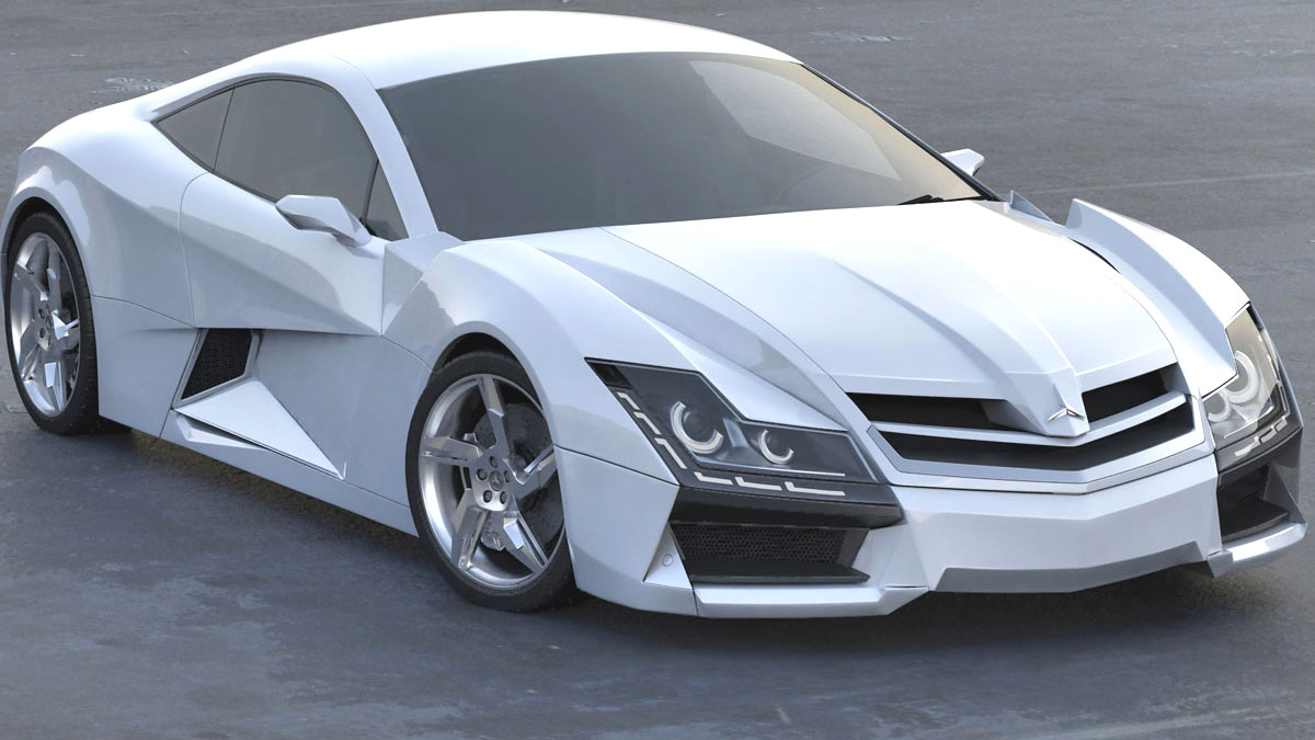 Volvo V60 Cross Country >> Mercedes SF1 Concept: Ausblick auf Supersportwagen mit Stern