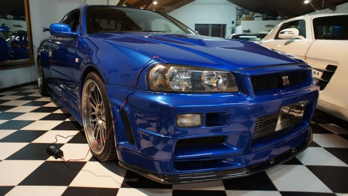 nissan skyline gt r aus fast furious 4 steht zum verkauf. Black Bedroom Furniture Sets. Home Design Ideas