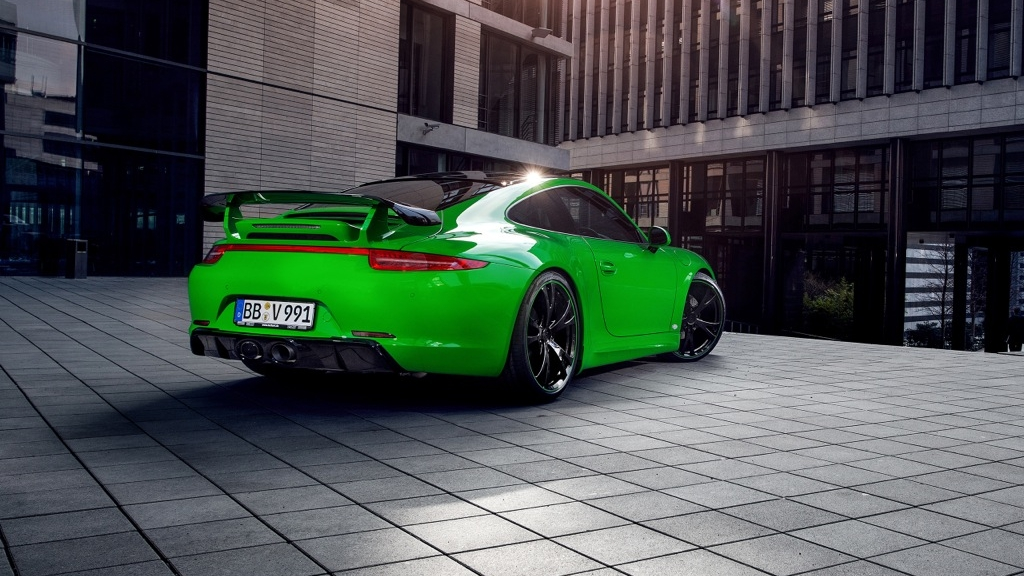 Es Werde Gr 252 N Techart 911 In Genf