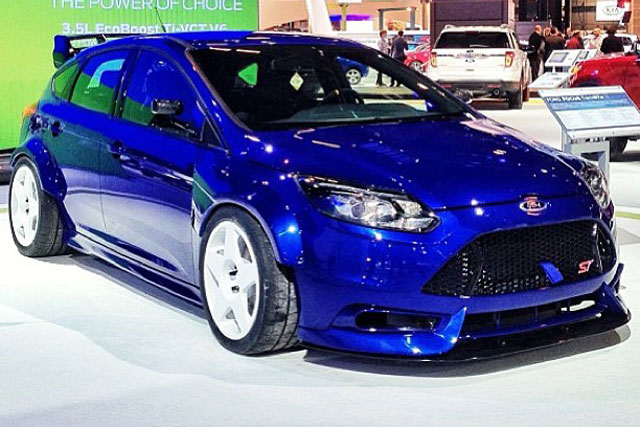 Ford Focus St Als Trackster In Chicago