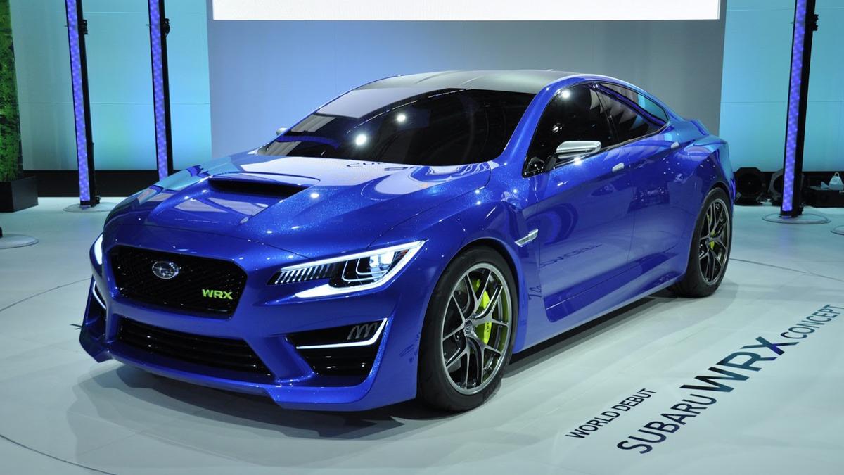 Subaru WRX Concept New York Auto Show