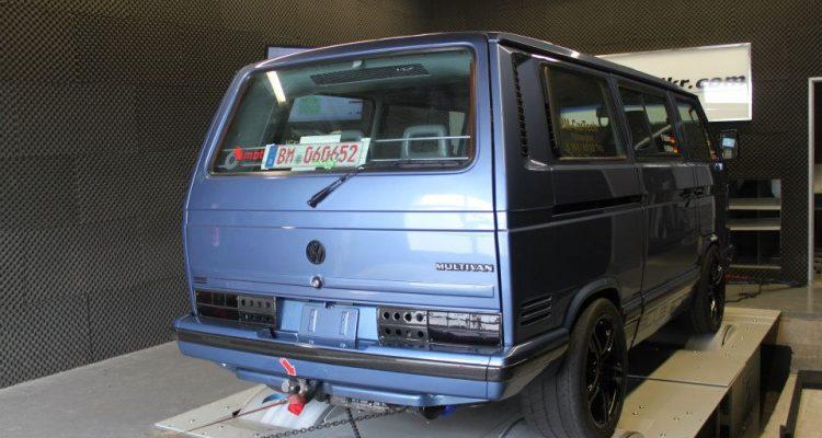 Sportbus Par Excellence Multivan Mit Rs Power Im Heck