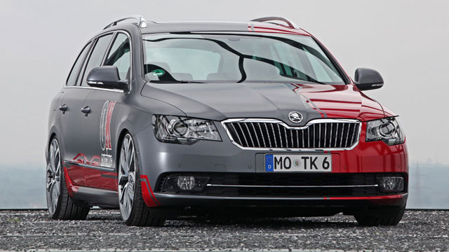 skoda superb combi von ok tuning cam shaft. Black Bedroom Furniture Sets. Home Design Ideas