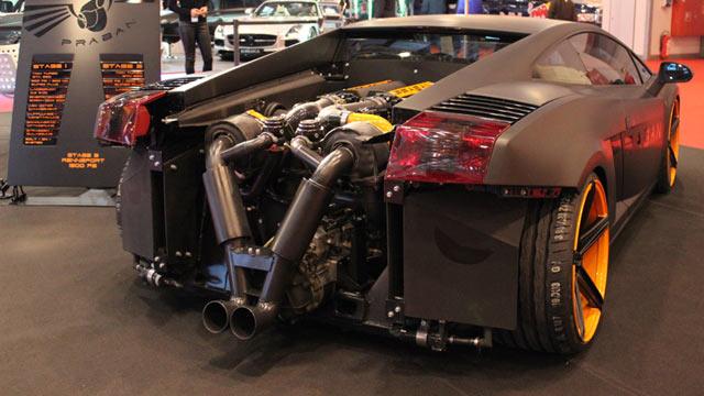 2013 Jeep Wrangler Sport >> Lamborghini Gallardo TwinTurbo von Praban: Böse, böse