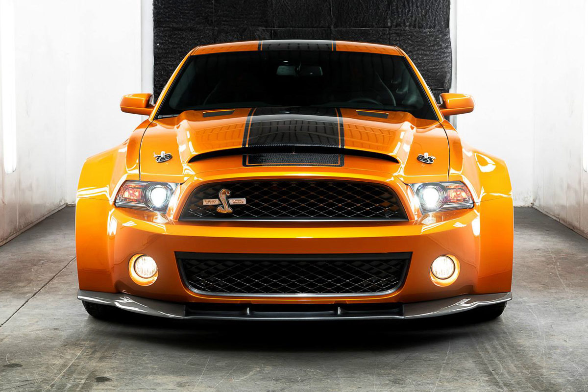 Ford Mustang Shelby Gt500 Super Snake Von Ultimate Auto