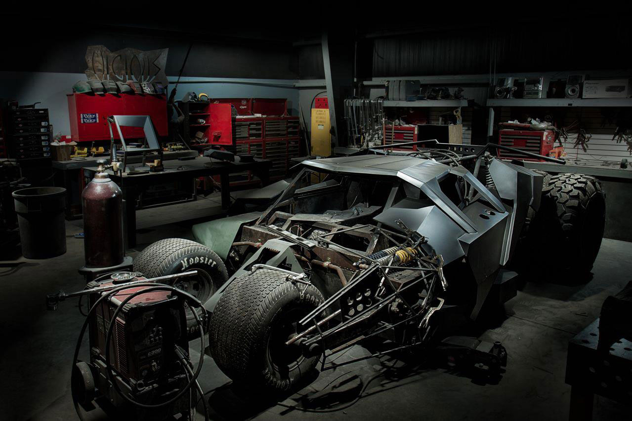 Gumball 3000 Batmobile Tumbler Live Und In Farbe