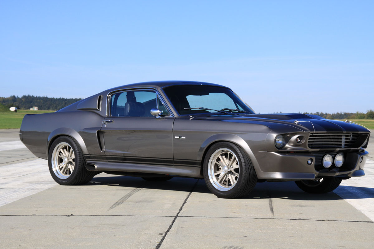 ford mustang gt500 eleanor nachbau aus deutschland. Black Bedroom Furniture Sets. Home Design Ideas