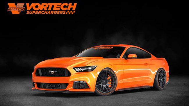 Sema 2014 Ford Mustang Von Vortech
