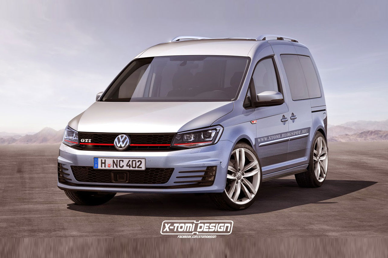 Vw Caddy Gti Und Caddy R T 252 Chtig Power F 252 R Den Kasten