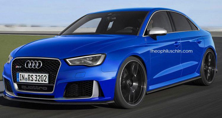 Audi Rs3 Limousine Konkreter Ausblick