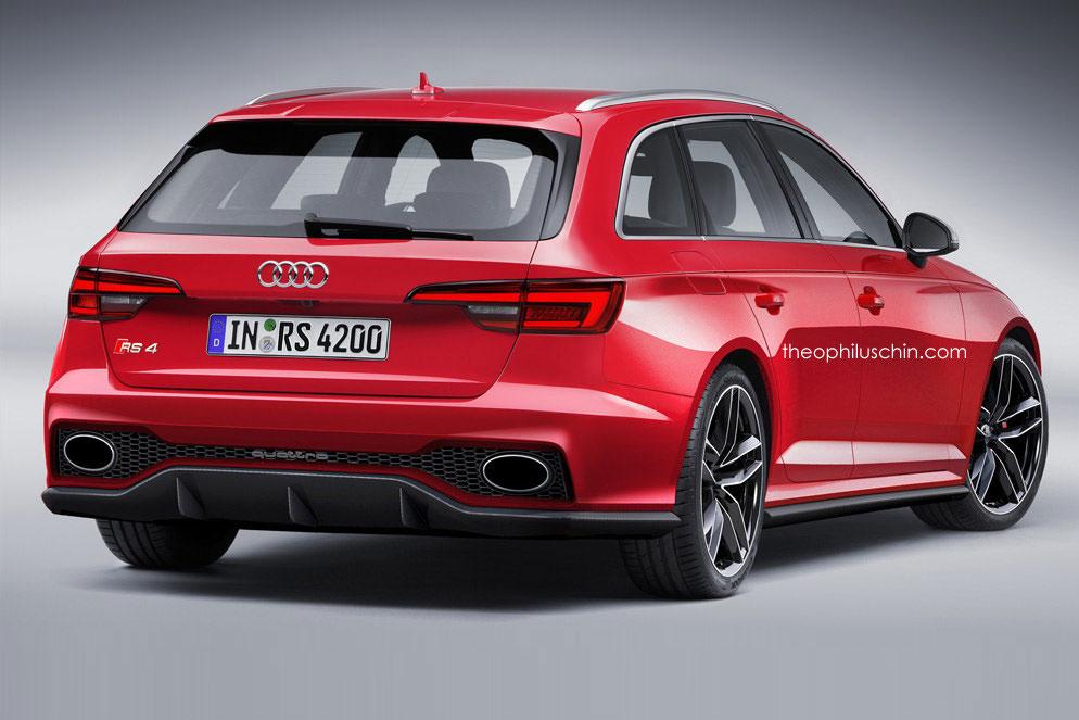 Erste Videos vom neuen Audi RS4 Avant (B9)