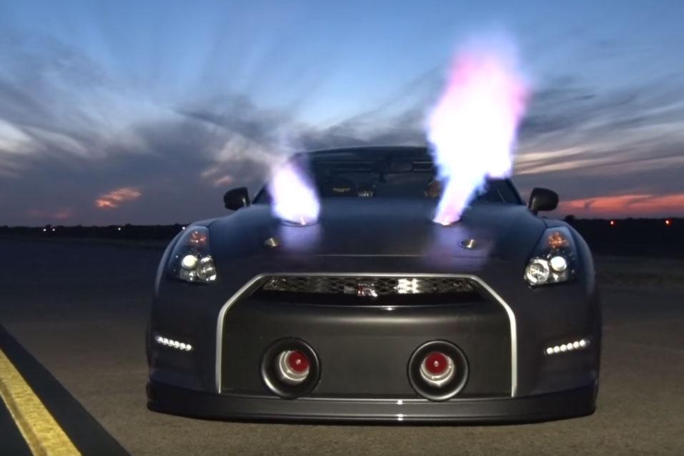 Nissan Gt R Mit 252 Ber 2 200 Ps Neuer Rekord Mit 379 Km H