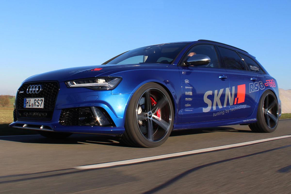Audi Rs6 Avant Von Skn Tuning Ab 2016 Mit Noch Mehr Power