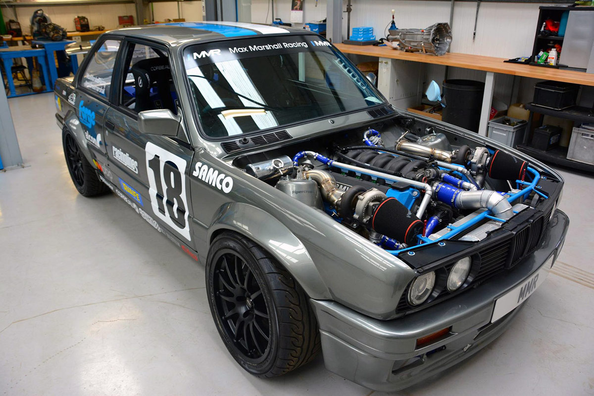 Engine Swap Bmw E30 Mit Biturbo M60 V8