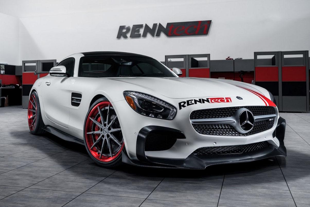 Mercedes Amg Gt Von Renntech Mit 252 Ber 700 Ps Auf