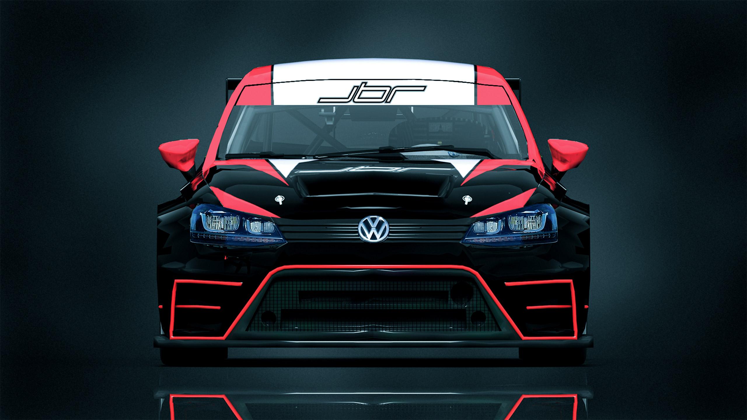 Jbr Motorsport Setzt Neuen Vw Golf Gti Tcr Ein