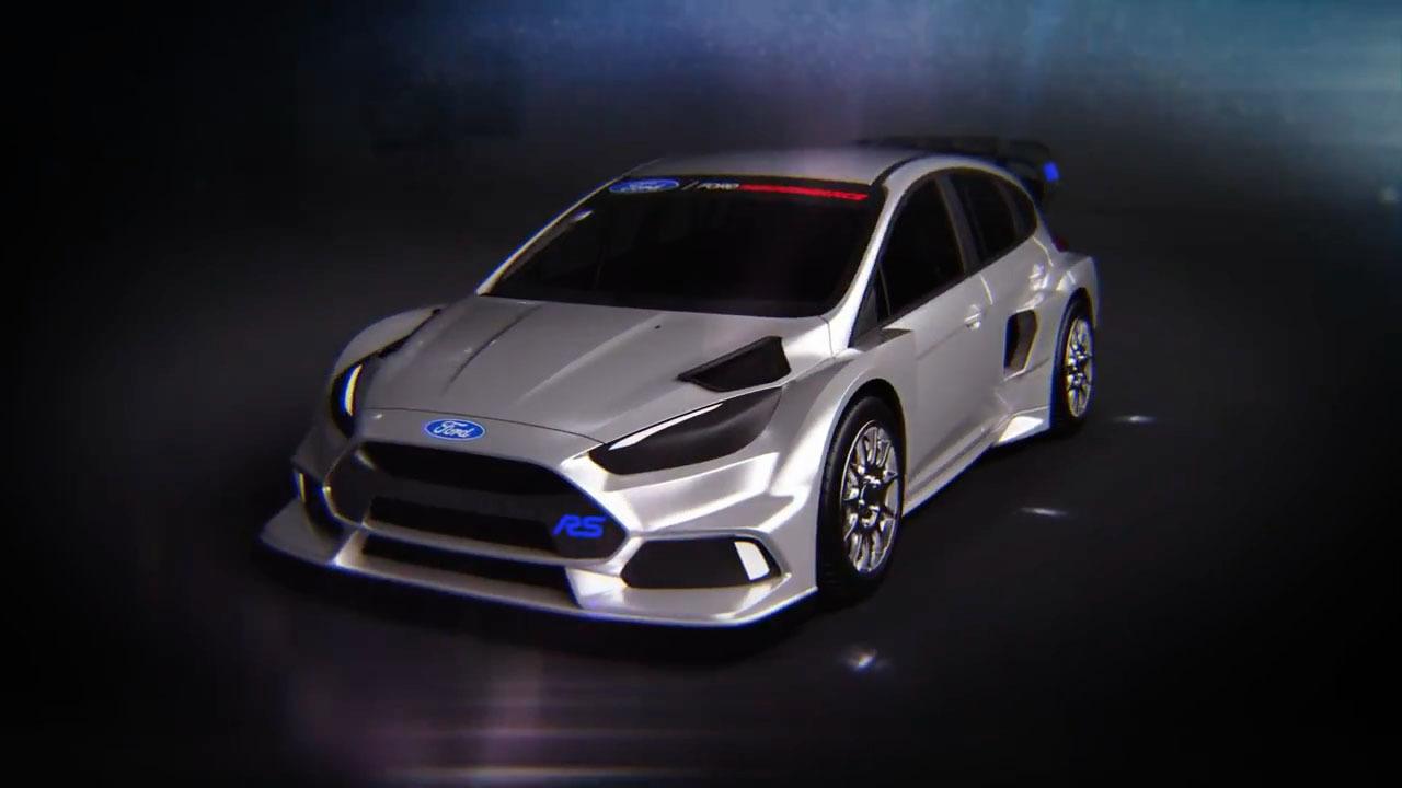 Ford Focus Rs Rx Ken Blocks Neues Spielzeug Mit 600 Ps