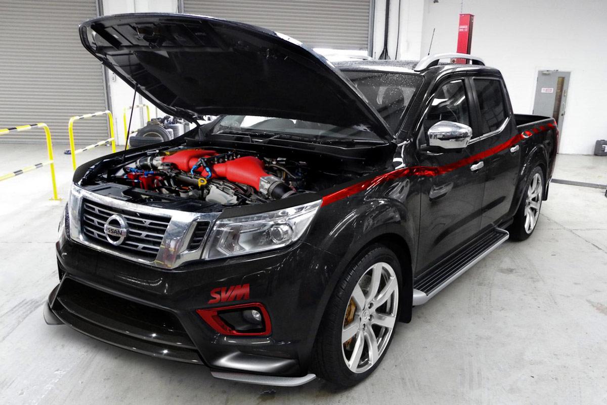 Nissan Navara R Der Monster Pickup Mit Godzilla Power