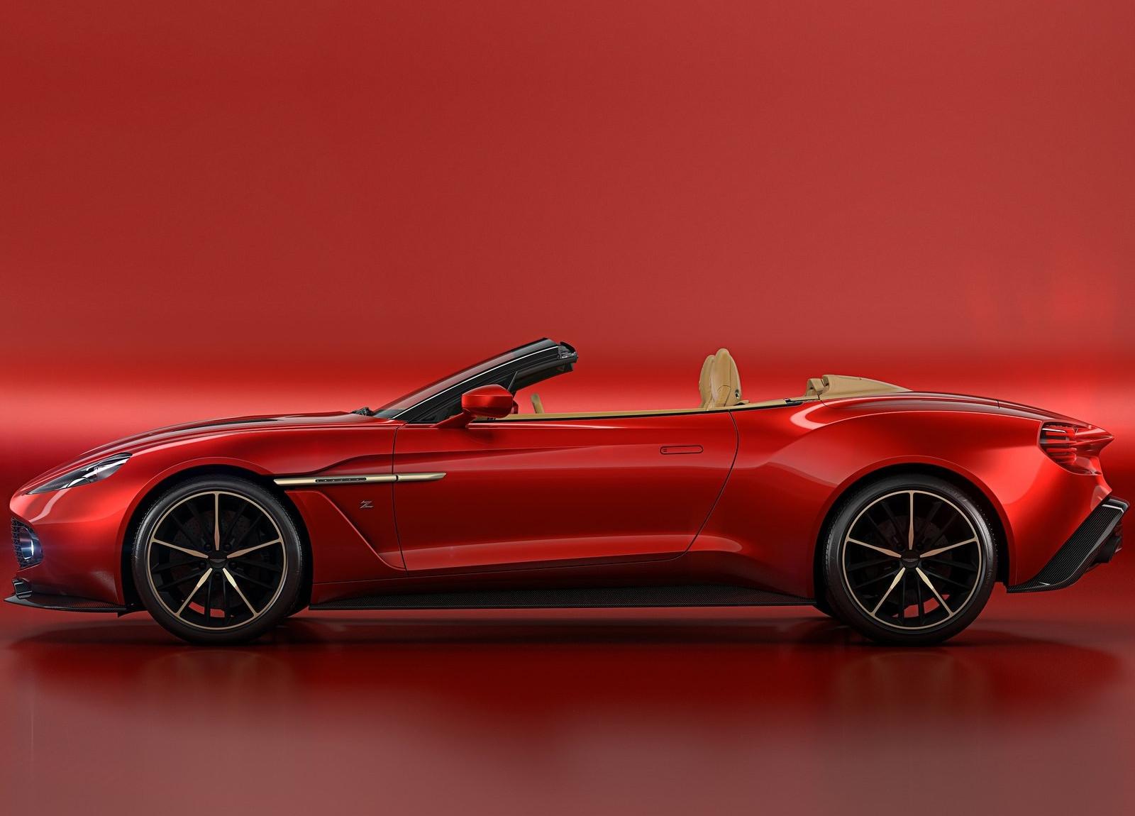 760.000 euro: aston martin vanquish zagato volante