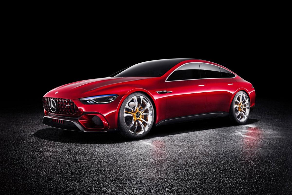 Mercedes Amg Gt Concept Ausblick Auf Erste Limousine Von Amg