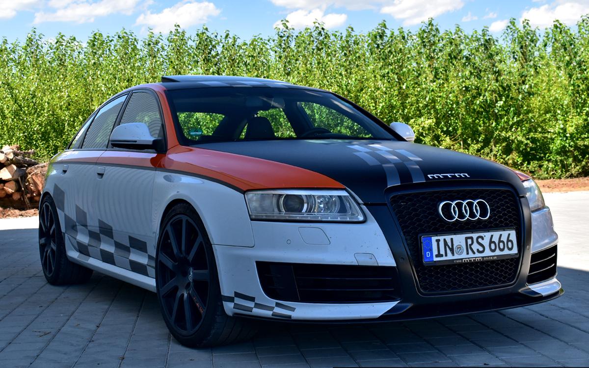 820 Ps Haudegen Unterwegs Im Mtm Audi Rs6 V10 Clubsport