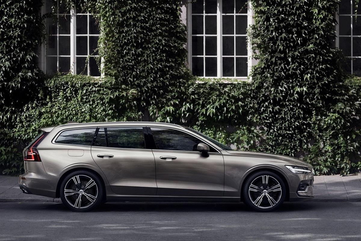 Volvo V60 2018 Schicker Schwede Auf Premium Kurs