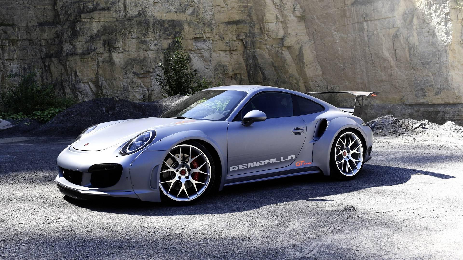 Gemballa Pr 228 Sentiert Sein Porsche 911 Gt Concept Auf Der Sema