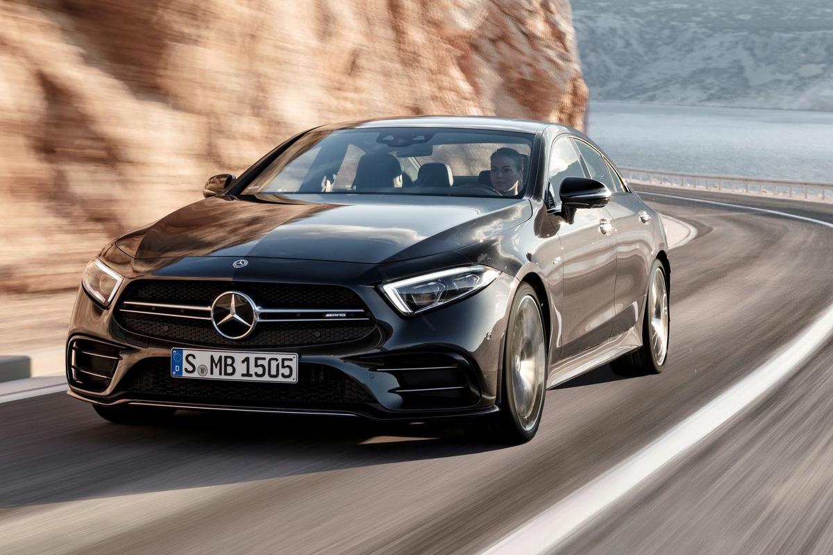 Mercedes Classe S >> Elektrisierend anders: das neue Mercedes CLS 53 AMG Coupé!