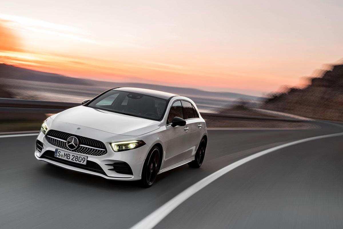 Die Neue Mercedes Benz A Klasse Oberklasse Im Kompaktformat
