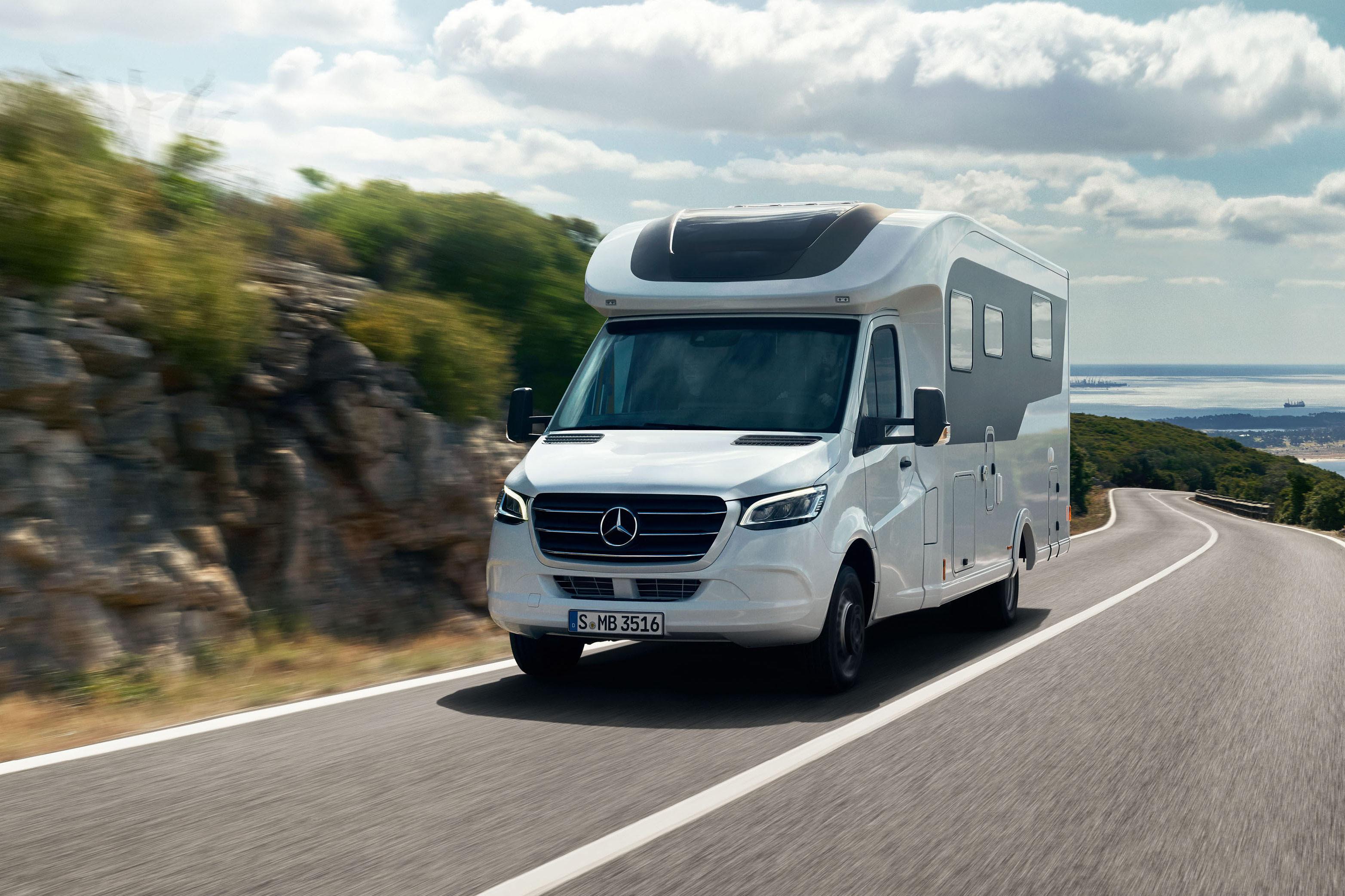 Mercedes Sprinter als Wohnmobil-Basis: Erste Kampagne ist online