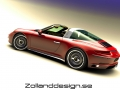 Porsche 991 Bodykit von Bo Zolland