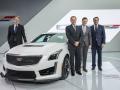 Cadillac CTS-V Detroit Motor Show 2015