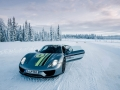 Porsche 911 turbo Wintertest