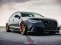 Audi RS6 Avant mit Felgen von Vossen Wheels 2015